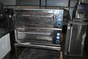 Продам печь бу для пиццы  Orest ЭДМП-2 (125 кг.).Двухуровневая печь бу